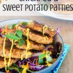 Mustard Chickpea & Sweet Potato Patties