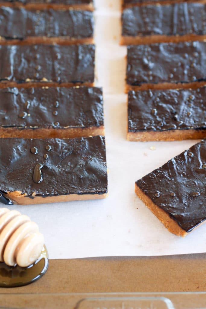 Honey Peanut Butter Bars