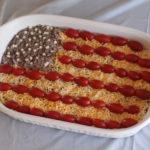 flag-bean-dip