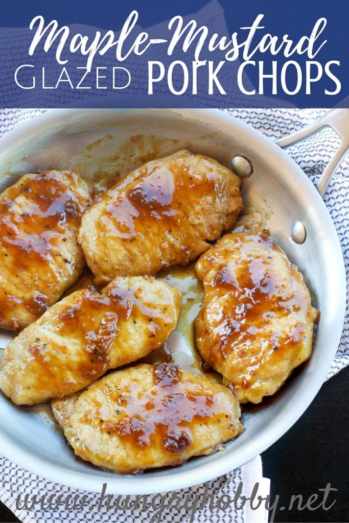 Maple Mustard Gluten Free Pork Chops