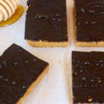 Healthier No Bake Peanut Butter Cookie Bars
