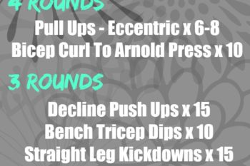 Upper Body & Core Supersets