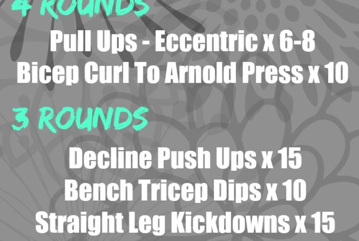 Upper Body & Core Superset (+ Day In The Life)