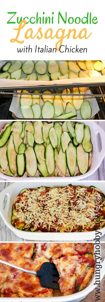 Zucchini Noodle Lasagna With Italian Chicken