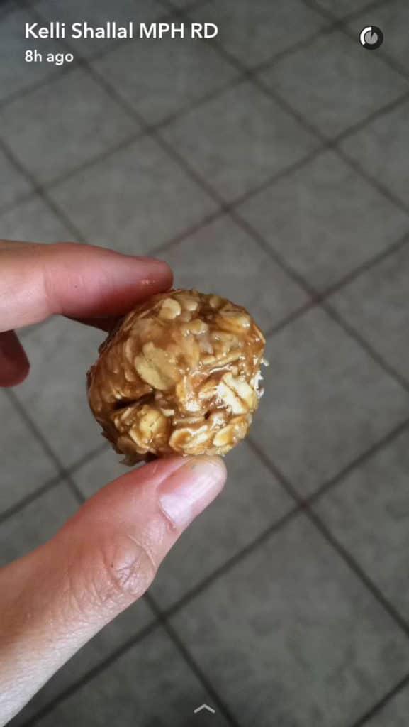 oatmeal ball
