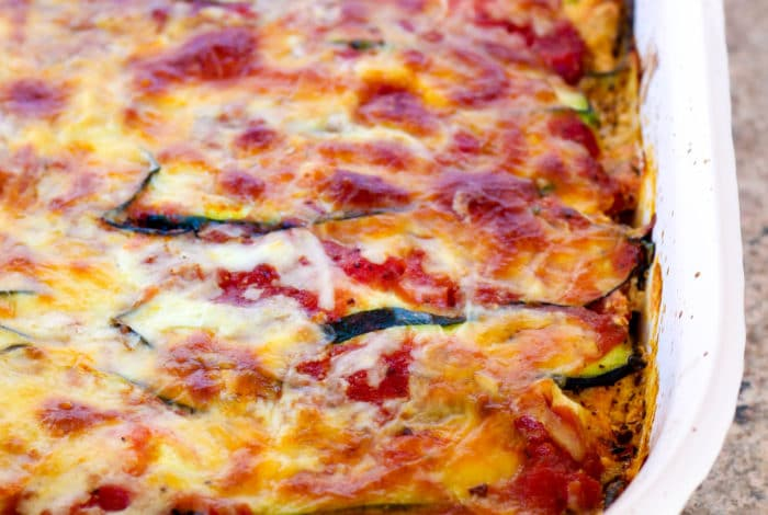 Zucchini Noodle Lasagna With Italian Chicken (RR July 2016)