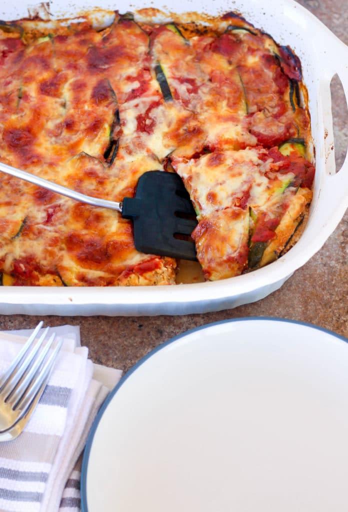 zucchini lasagna spatula