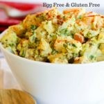 Lightened Up Potato Salad Egg Free Gluten Free www.hungryhobby.net