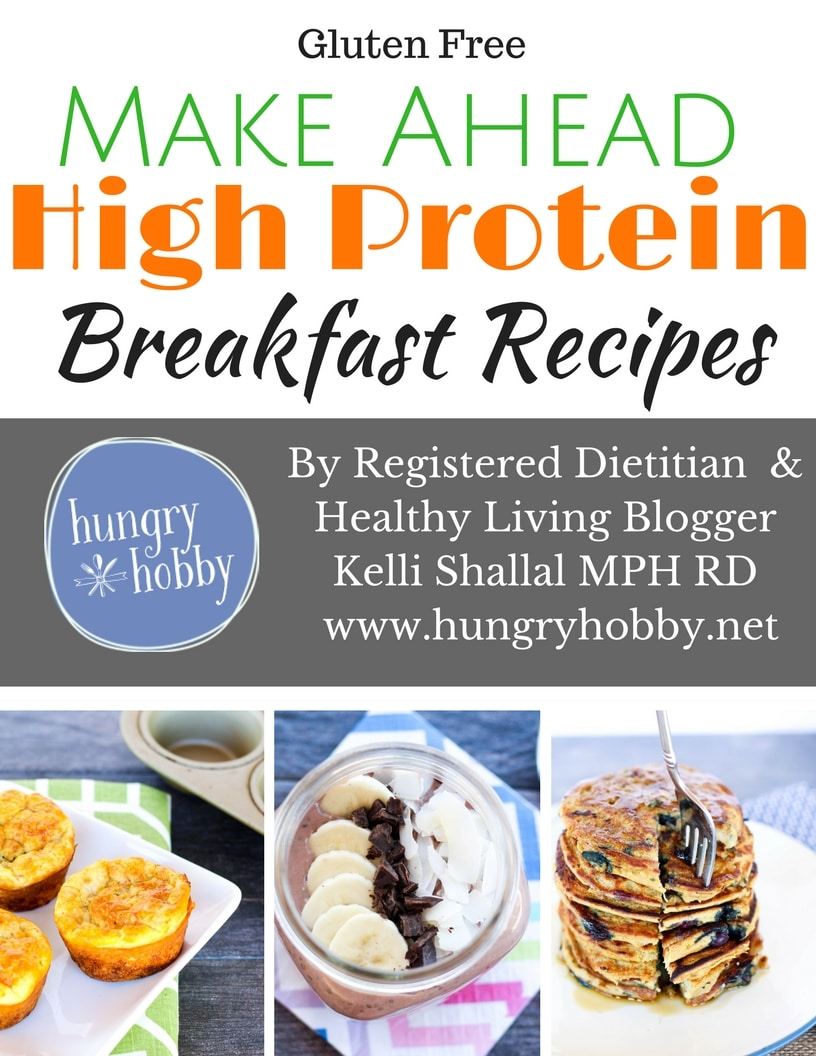 Make Ahead High Protein Breakfast Ebook - Hungry Hobby