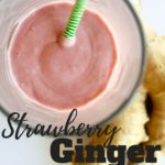 Strawberry Ginger Smoothie Gluten and Dairy Free