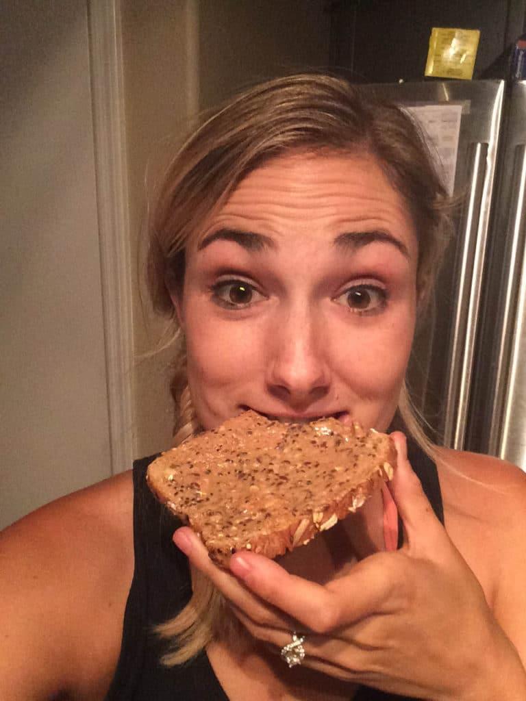 kelli and toast