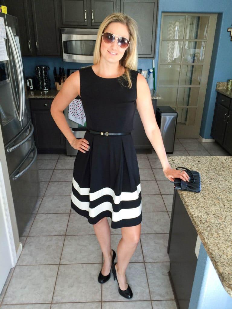 kelli black dress