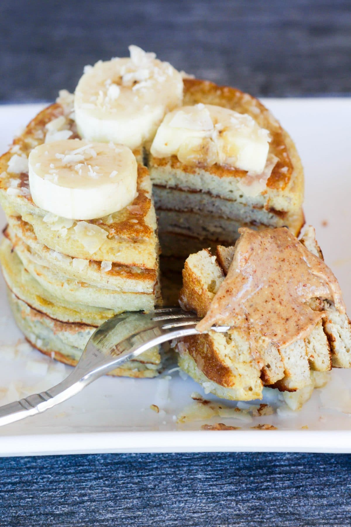 Coconut Flour Pancakes - Low Carb, Healthy