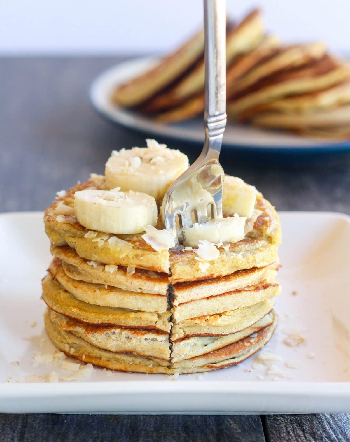 pancake stack fork