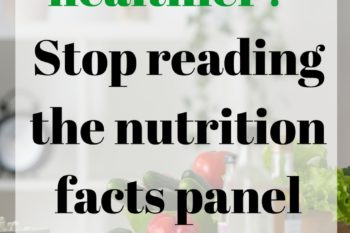 read ingredients