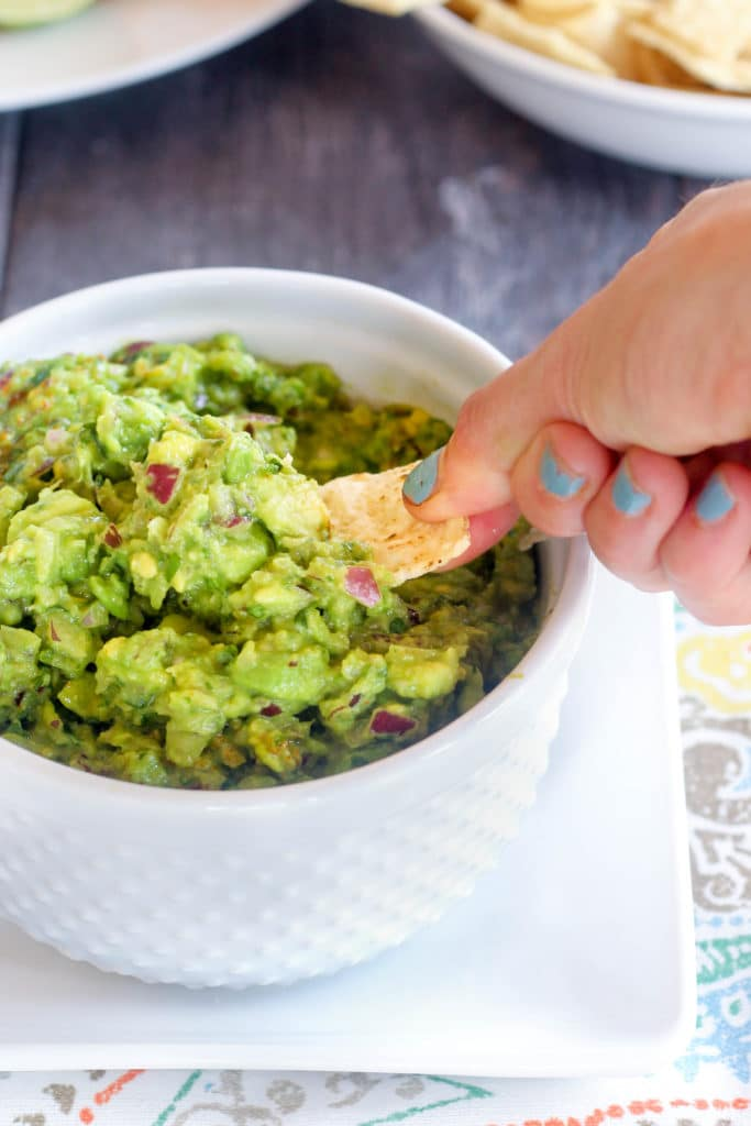 Spicy Guacamole - gluten and dairy free