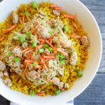 Turmeric Cauliflower Rice