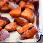 Cinnamon Maple Roasted Sweet Potatoes (RR September 2016)