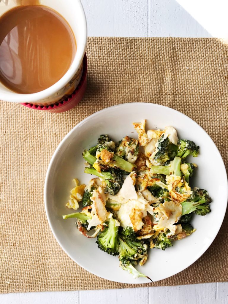 eggs and broccoli