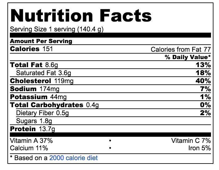 delicata squash egg bake nutrition
