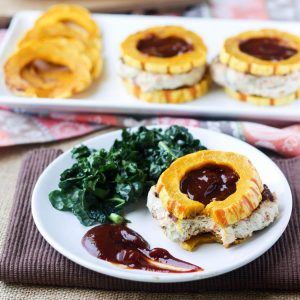 Paleo Autumn Turkey Burgers with Delicata Squash Buns
