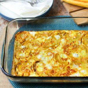 Delicata Squash Egg Bake Recipe by www.hungryhobby.net