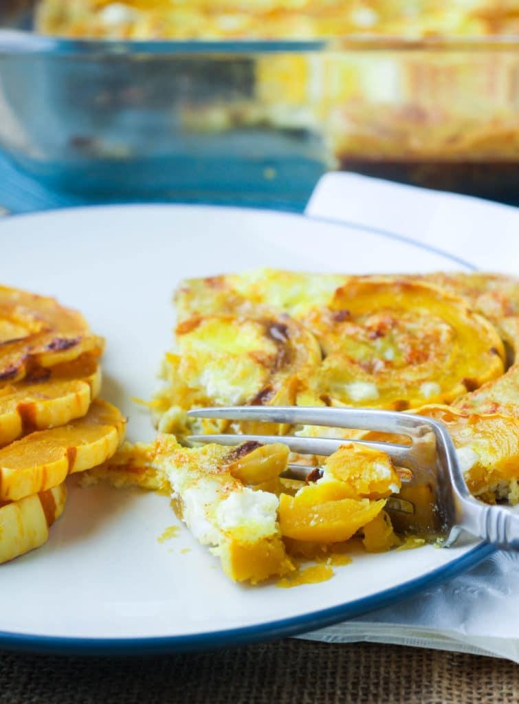 delicata-squash-egg-bake-piece-bite