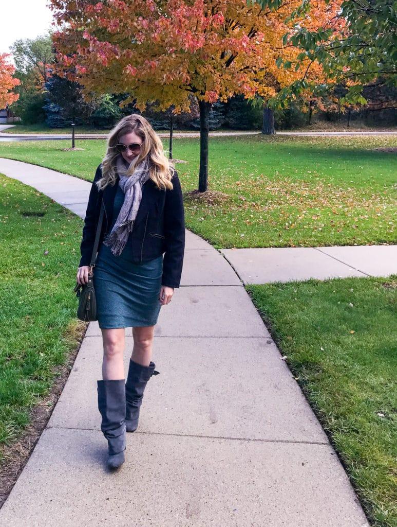 walking-sweater-dress