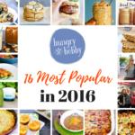 Most Popular 16 of 2016