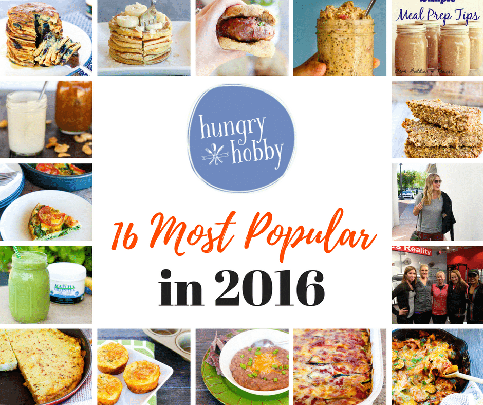 16 Most Popular Posts in 2016 Hungry Hobby - Healthy Recipes, Tips and Fashion