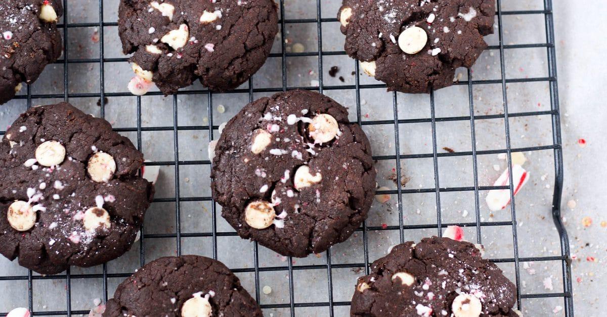 Gluten Free Chocolate Peppermint Cookies