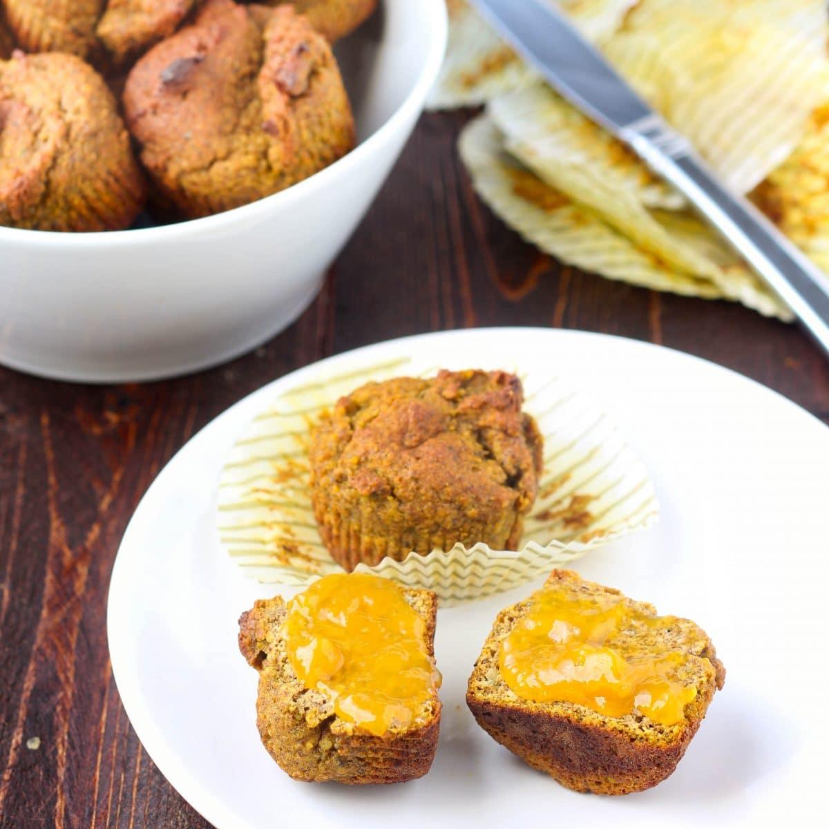 Hemp & Flaxseed Muffins