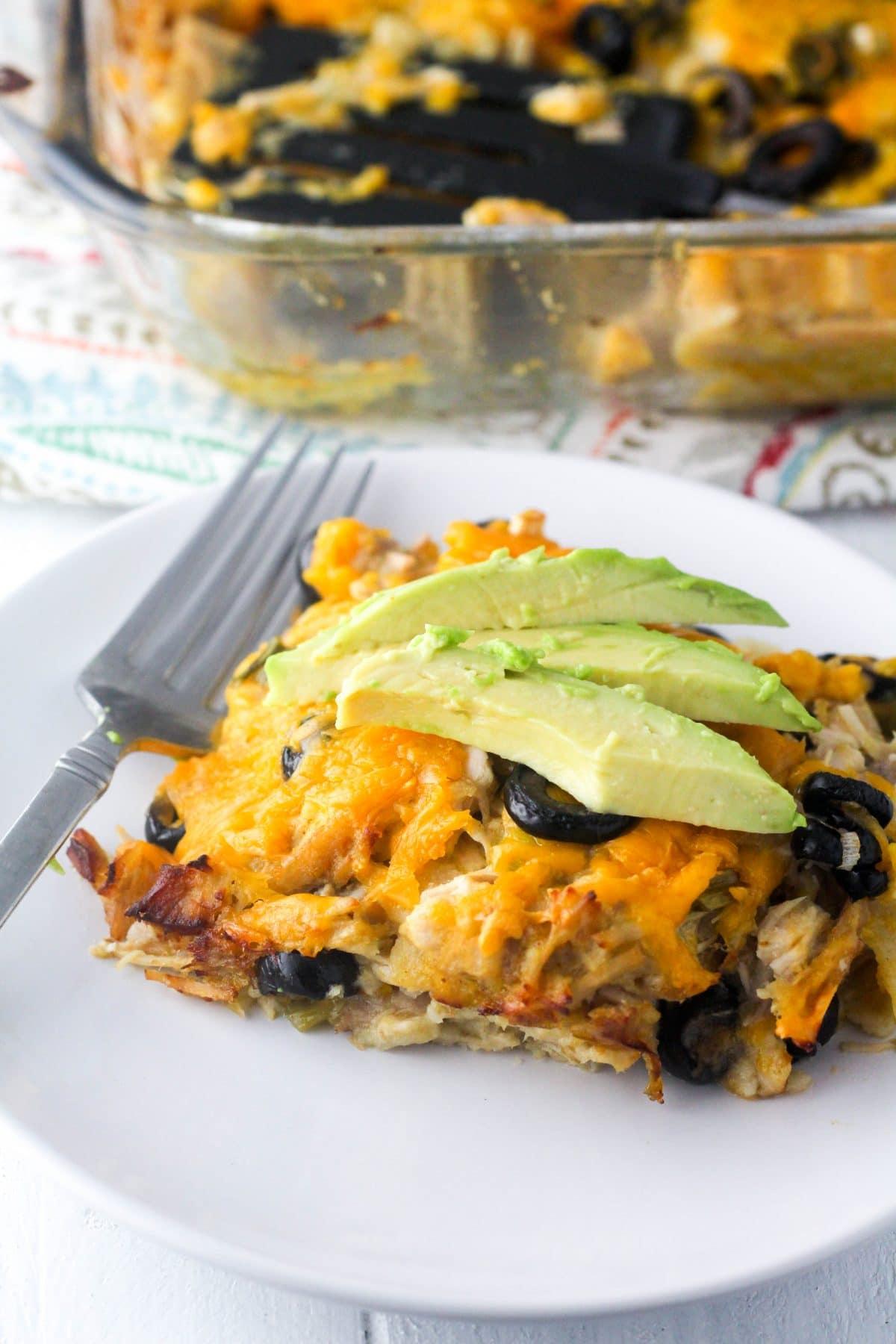 Gluten Free Turkey Enchilada Casserole