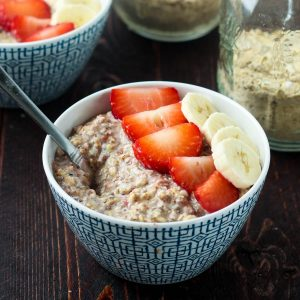 How to make instant oatmeal packets - high protein, omega 3 oatmeal