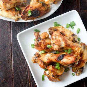 Baked Jamaican Jerk Wings