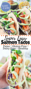 Super Easy Salmon TAcos
