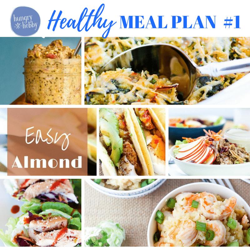 Week One Healthy Meal Plan