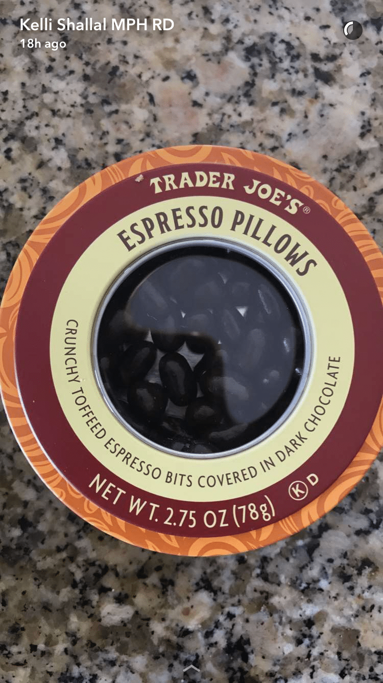 trader joes espresso pillows