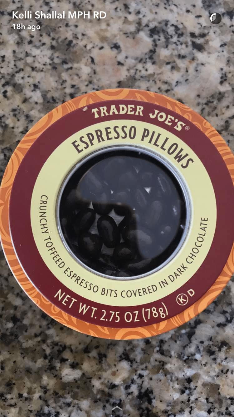 trader joes espresso pillows