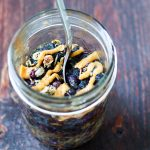 Mason Jar Blueberry Baked Oatmeal