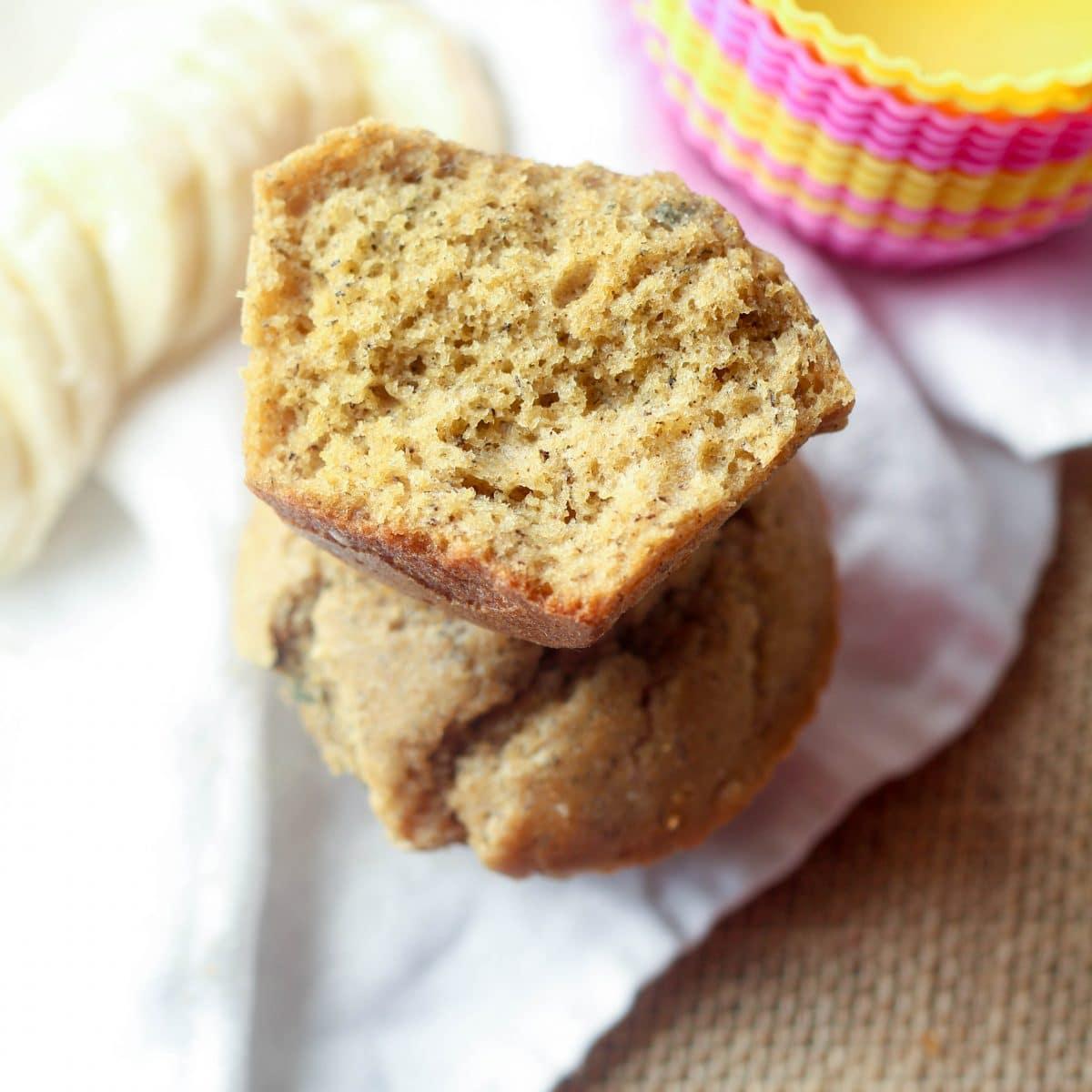 whole-wheat-banana-muffins