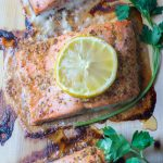 How to Make Cedar Plank Salmon & Veggies In The Oven