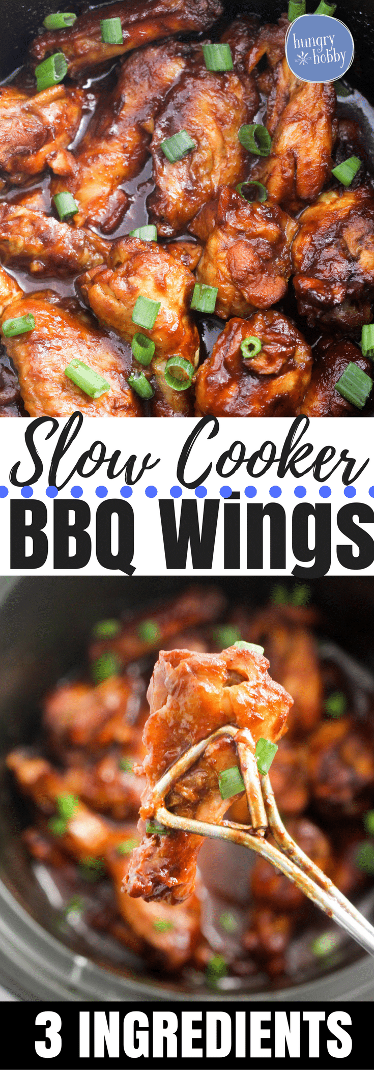 Slow Cooker Barbecue Wings will change the way you look at wings and your slow cooker, an easy, delicious, gluten-free crowd pleaser!