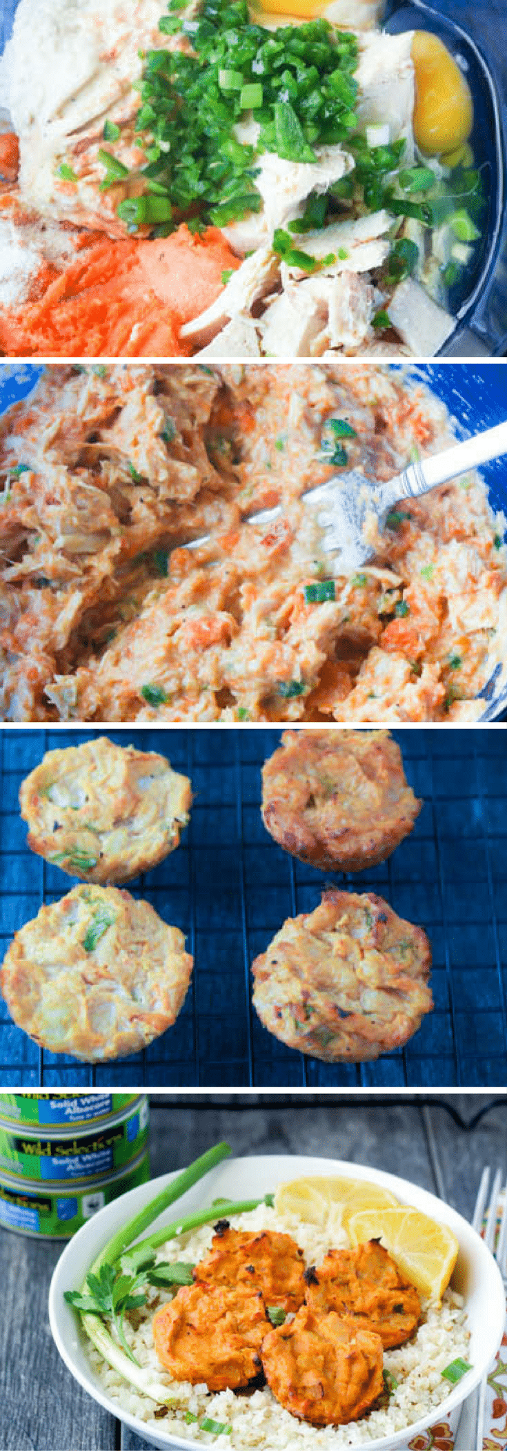 Spicy Tuna Hummus Cakes are flaky and flavorful in every bite.  Full of healthy protein and energizing carbs to keep you moving all day!