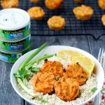 Spicy Tuna Hummus Cakes