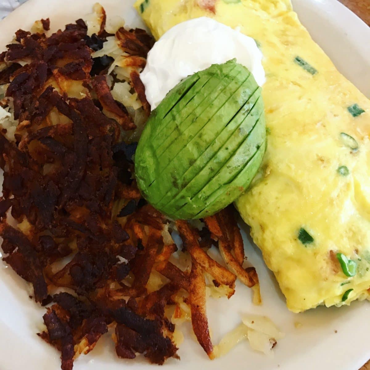 2bills cafe omelet