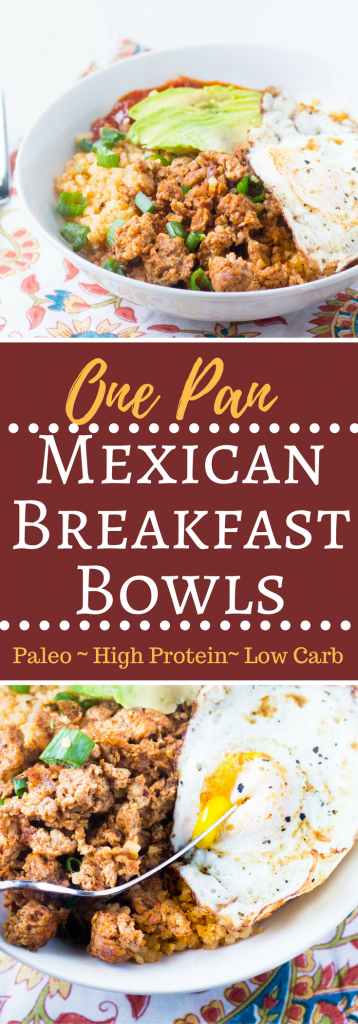 Mexican Breakfast Bowls PIN