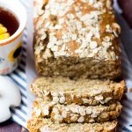 One Bowl Honey Oat Bread (with 1 Minute VIDEO)