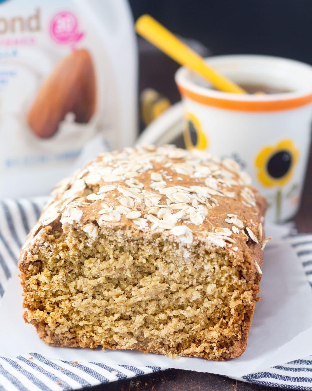 Honey Oat Bread - Gluten Free, Dairy Free, Healthy