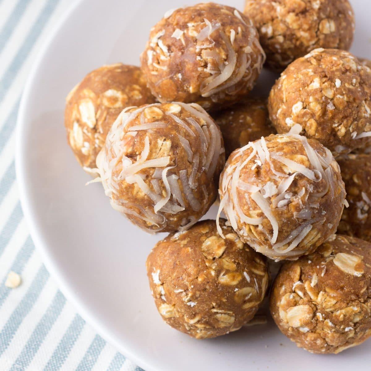 Peanut Butter Protein Balls 9 Grams Protein Each